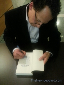 Lawrence Hill booksigning