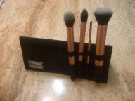 Brushes in stand