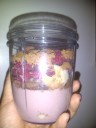 Chocolate Raspberry Banana in nutribullet