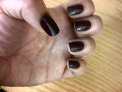 imPRESS manicure 7 days later