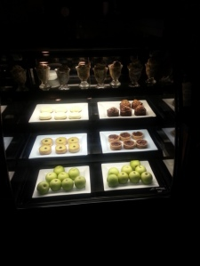 The Olive Press dessert display