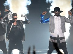 Justin Bieber and Will I Am