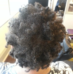 Shea Moisture curling souffle results day 1