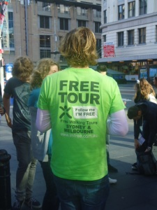 I'm free walking tours, australia