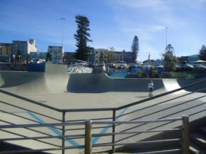 Bondi Skate Park, NSW, Australia