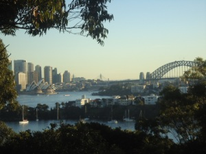 View of Sydney Harbour from Taronga Zoo
