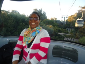 Cable car ride at Taronga Zoo