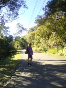 Trekking to Manly Beach