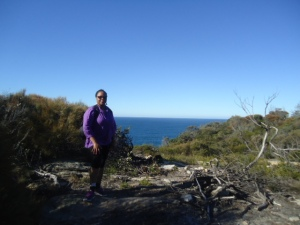 On the Trail to Manly beach