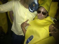 Horse+banana +duckface= FUN!