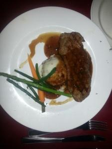 Big Daddy's 8oz Striploin steak