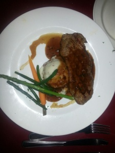 Big Daddy's 8oz Striploin steak