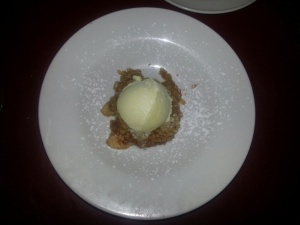 Big Daddy's Apple Crumble
