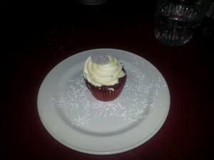 Big Daddy's Red Velvet cupcake