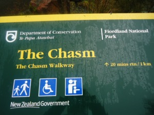 The Chasm, Fiordland National Park, New Zealand