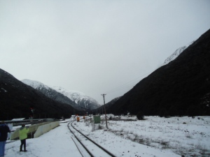 TranzAlpine scenic route, South Island, New Zealand