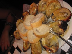 char grilled oysters at Acme