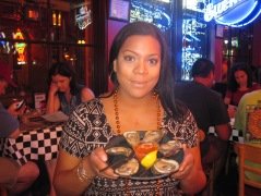 Oysters...yum!