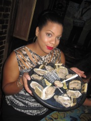 raw oysters at Oceana