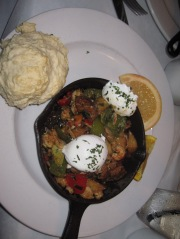 crawfish hash at Eat