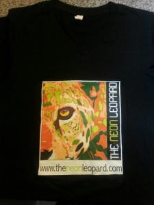 The Neon Leopard tshirt