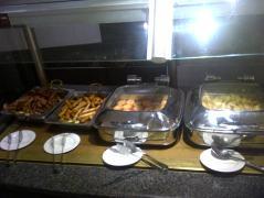 breakfast fare at Whiteside's Terrace