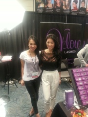 Mabel & Angela, Owners of Velours Lashes