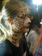 amazing makeup art at IMATS Toronto