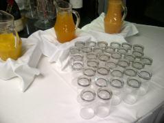 fresh juice at Whiteside's Terrace