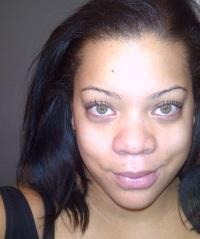 no makeup!!