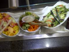 salad at Whiteside's Terrace