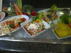 salad at Whiteside's Terrace