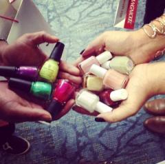 TNL IMATS nail polish haul