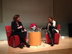 Mel B interview at the Toronto Public Library