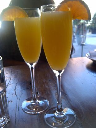 mimosas at Destingo
