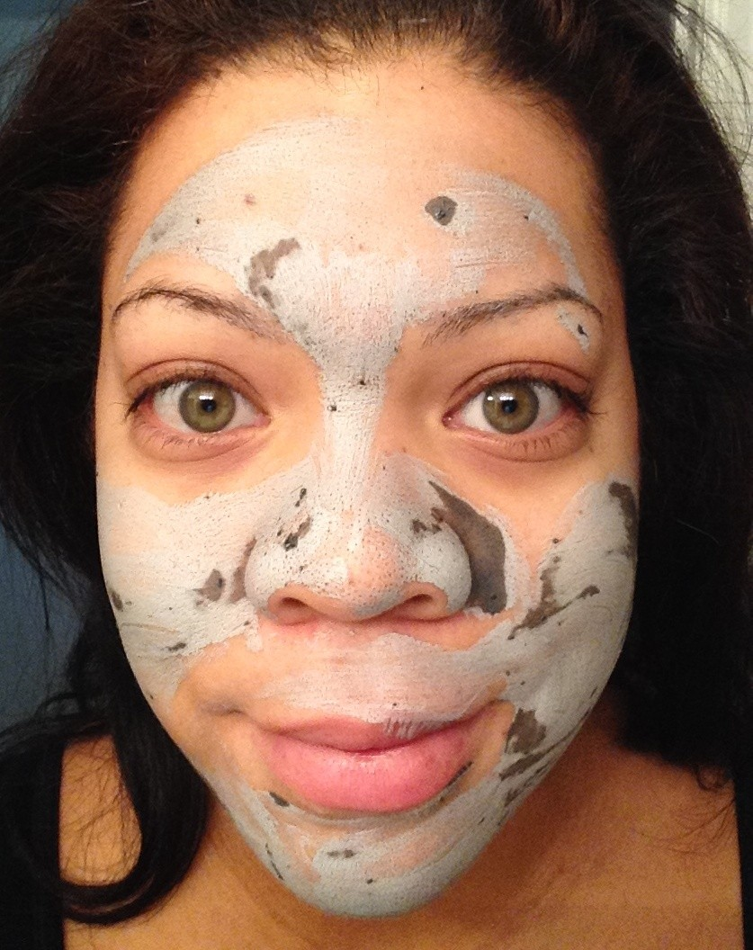 product review  glam glow supermud clearing treatment