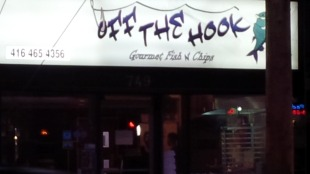 Off the Hook Gourmet Fish and Chips