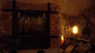 Solana salt cave