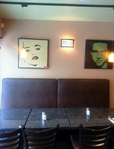 Valens Restaurant, Toronto (2) inside paintings