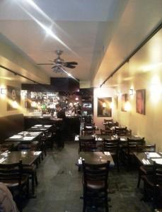 Valens Restaurant, Toronto (2) inside setting