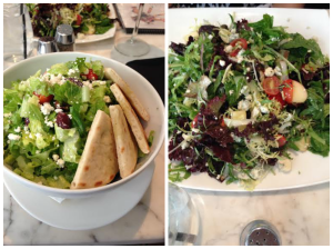salads at Sugar Factory