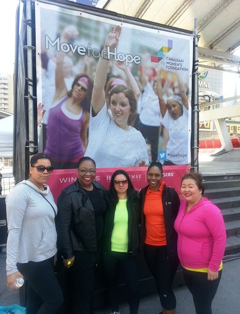 TNL at 2014 Move for Hope (1)