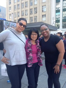 TNL at 2014 Move for Hope with Olivia Chow