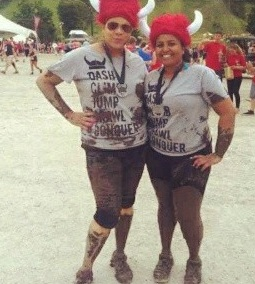 after Warrior Dash