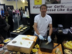 Delicious Food Show 2013 - Garlic grater