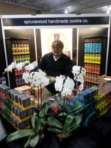 Delicious Food Show 2013 - Sprucewood Handmade Cookie co