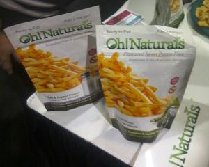 Delicious Food Show Oh Natruals Sweet Potato snack