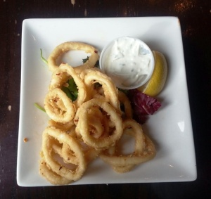 Hey Lucy Fried Calamari