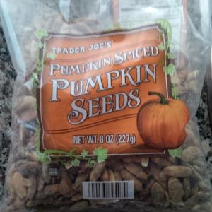 pumpkin spice pumpkin seeds