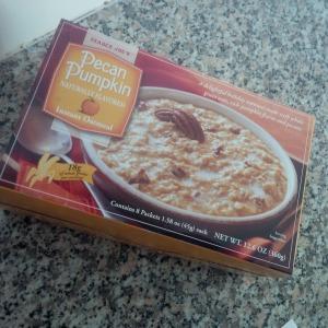 Pumpkin pecan oatmeal